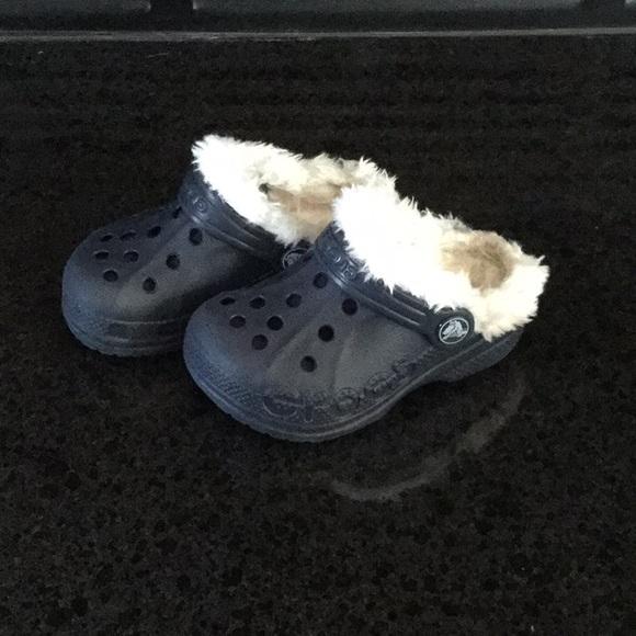 CROCS Shoes | Fuzzy Crocs | Poshmark